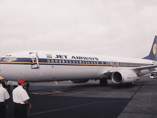 Jet Airways Old Photo